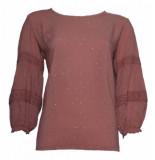 20 TO A20351 067 blouse lurex dots rosa