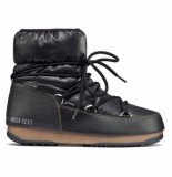 Moon Boot Women low nylon black brons zwart