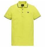 PME Legend Ppss204883 1126 short sleeve polo stretch pique limeade