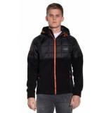 Superdry Fleece jas zwart