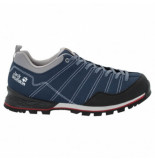 Jack Wolfskin Wandelschoen men scrambler low blue black blauw