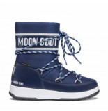 Moon Boot Junior sport wp navy white blauw