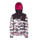 Protest Ski jas girls sweets dark lava