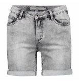Geisha 01013-10 5-pocket shorts grijs