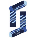 Happy Socks filled optic - blauw