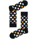 Happy Socks big dot - zwart