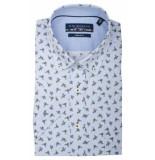 Bos Bright Blue Korte mouw blouse 106670/219