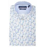 Bos Bright Blue Korte mouw blouse 106670/746