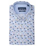 Bos Bright Blue Korte mouw blouse 106670/526