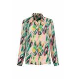 POM Amsterdam Flower play blouse
