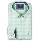 Giordano Licht ruit linnen look chambray button-down regular fit