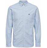 Selected Homme Overhemd hemels oxford button down regular fit