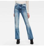 G-Star D01541-c296-b471 high flare jeans blauw