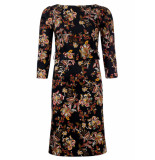 Dayz Claudine stretch print jurk