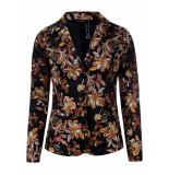 Dayz Celina stretch print blazer