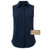Dayz Xava jeans blauw travel mouwloze blouse