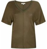 Tramontana T-shirt olive groen