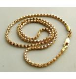 Christian 14 karaat gouden collier