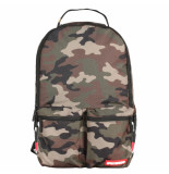 Sprayground Camo mesh side shark