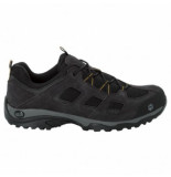 Jack Wolfskin Wandelschoen men vojo hike 2 low black burly yellow xt zwart