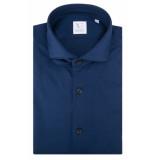 Xacus Overhemd met lange mouwen blauw