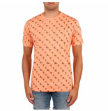 Off The Pitch All over 2.0 tee oranje