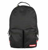 Sprayground Black mesh side shark