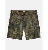 Dstrezzed Combat shorts with belt camo 515232/522