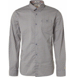 Noize Shirt, l/s, all over printed small airforce