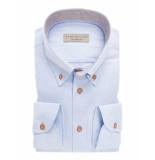 John Miller Heren overhemd licht button down tailored fit