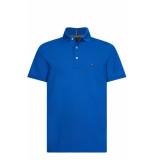 Tommy Hilfiger Polo met korte mouwen blauw