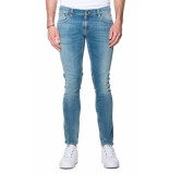 Nudie Jeans Tight terry jeans blauw