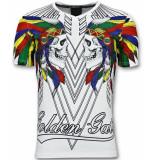 Enos T-shirts glitter shirt