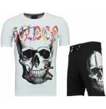 Enos T-shirt pak met korte broek trainingspakken