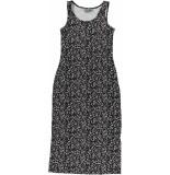 Geisha 07357-60 river 915 dress long aop sleeveless pr. 15 black/old pink