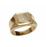 Christian Zirkonia cachet ring