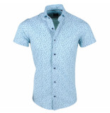 Montazinni heren korte mouw overhemd adamo - groen