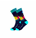 Muchachomalo Men 1-pack socks retrowave