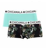 Muchachomalo Ladies 2-pack short bunyc