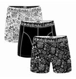 Muchachomalo Boys 3-pack shorts iconic art
