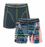 Muchachomalo Boys 2-pack shorts berlin wall