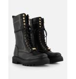 Nikkie Kate moss x gold stud boots