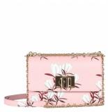 Furla 1927 mini crossbody floral roze