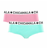 Muchachomalo Ladies 2-pack hipster solid