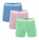 Muchachomalo Boys 3-pack short solid/solid/solid