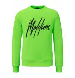Malelions Crewneck signature groen
