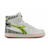 Diadora Mi basket animal wit