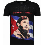 Local Fanatic Presidente rhinestone t-shirt