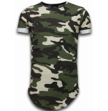 Tony Backer Known camouflage t-shirt long fit