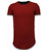 Justing 3d encrypted t-shirt long fit